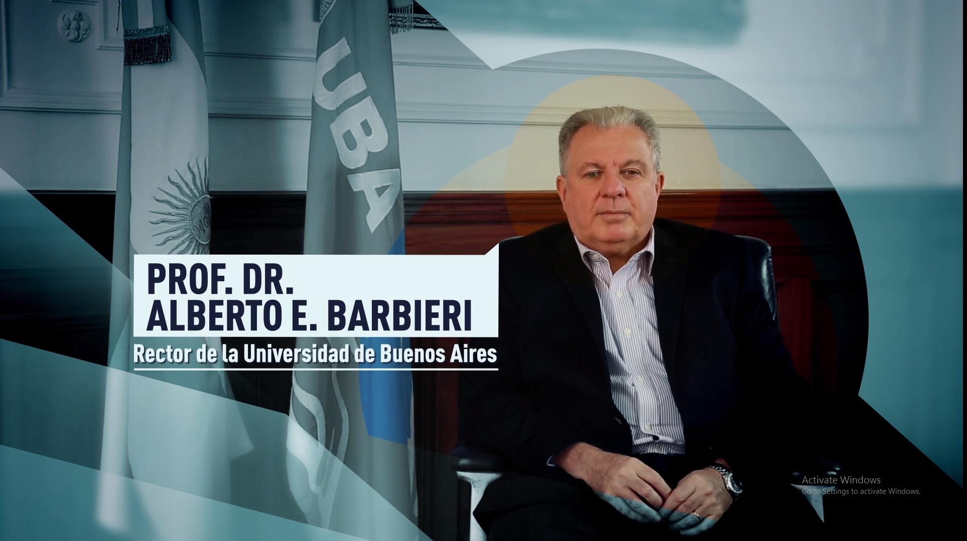 Soy UBA - Profesor Dr. Alberto E. Barbieri