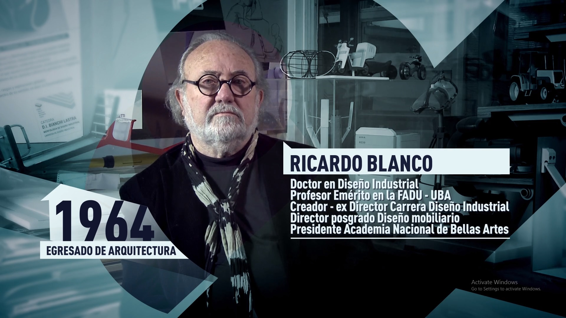 Soy UBA FADU - Ricardo Blanco