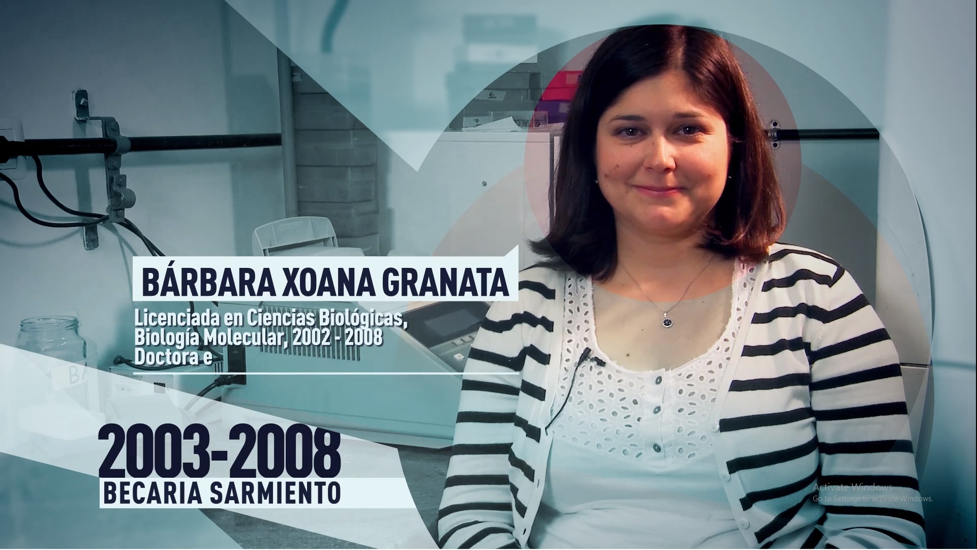 Soy UBA Exactas - Barbara Granata, becaria