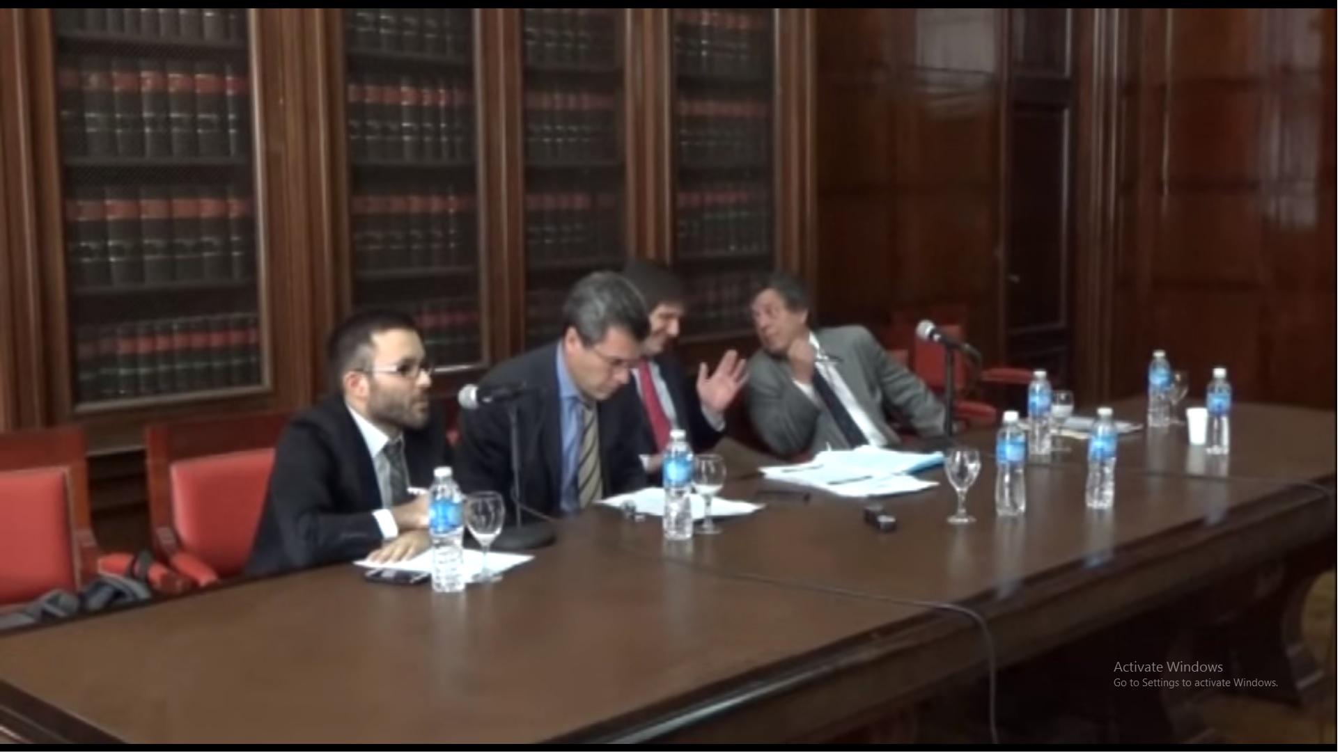 Jornada de debate sobre la reforma del Código Procesal Penal - Panel 2