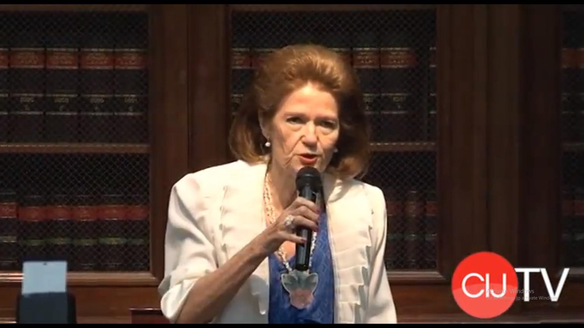 Homenaje de la Facultad a la Profesora Emérita Dra. Elena Highton
