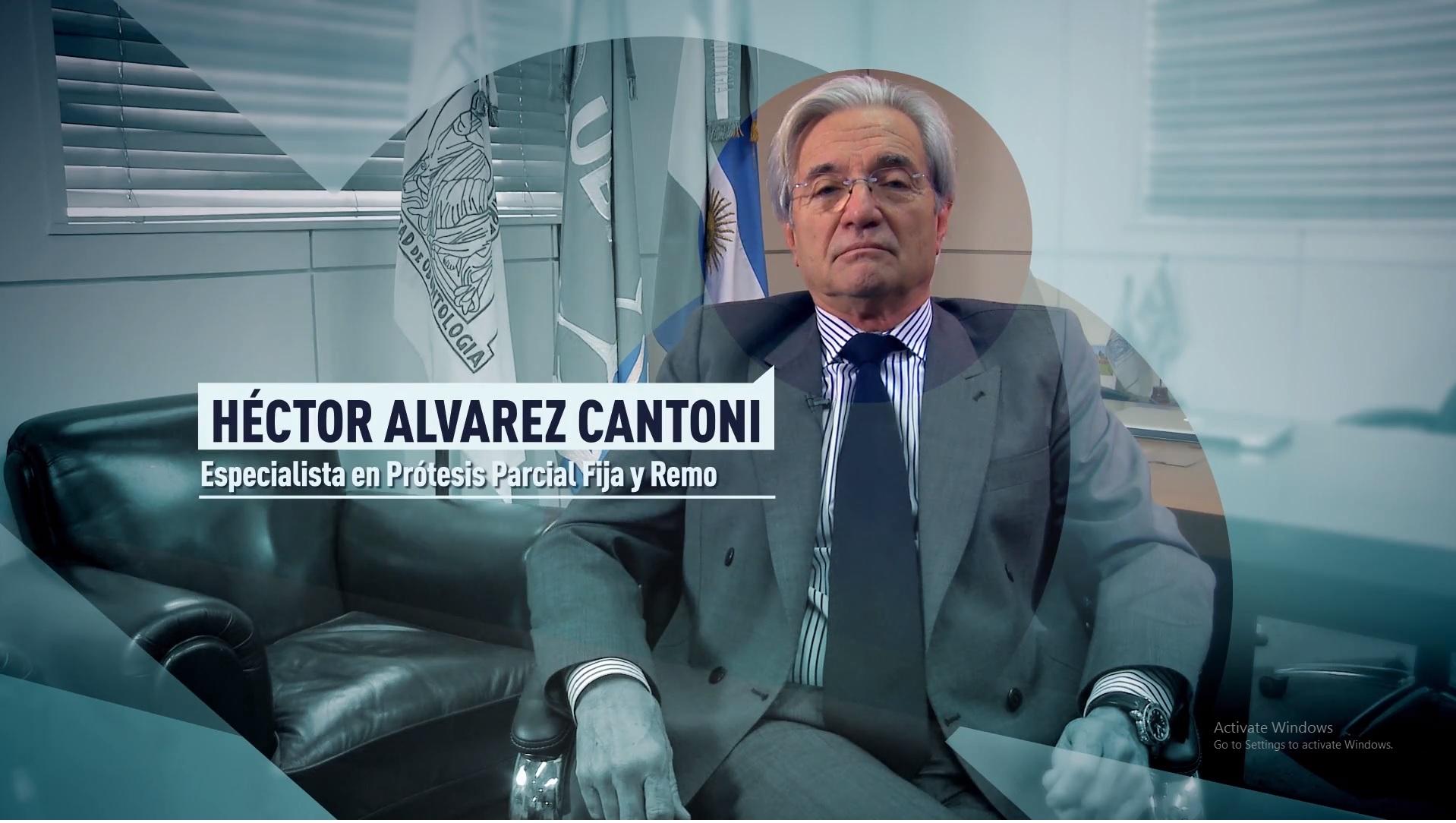 Soy UBA Odontología - Héctor Álvarez Cantoni