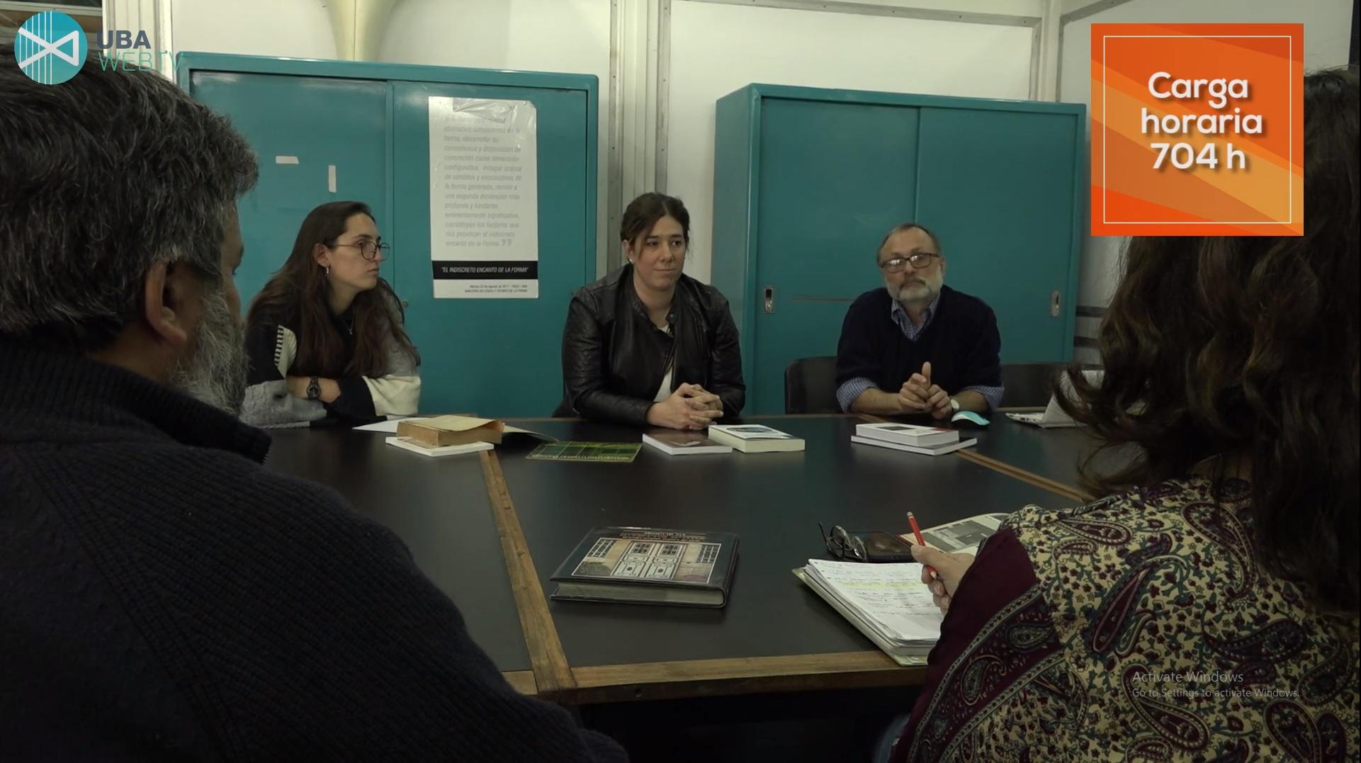 POSGRADOS FADU: Maestría en Historia y Crítica en la Arquitectura, el Diseño y el Urbanismo.
