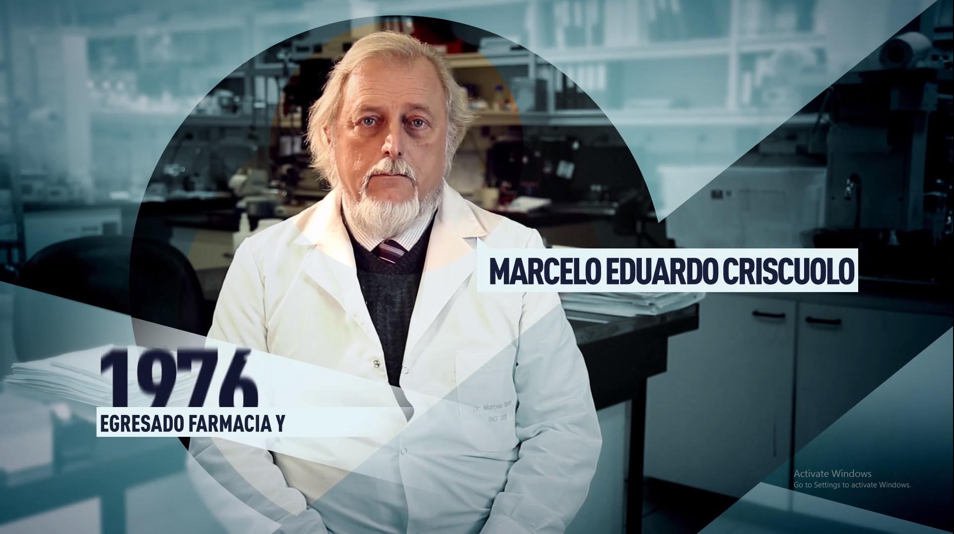 Soy UBA Farmacia y Bioquímica - Marcelo Eduardo Criscuolo